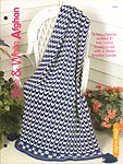 The Complete Knitting Collection: KNIT Blue & White Afghan