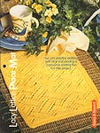 HWB Complete Knitting Collection: Lacy Lattice Place Mats