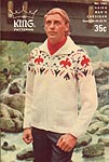 KNIT King Patterns No. 1101: Haida Man's Cardigan