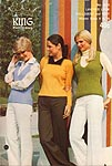 KNIT King Patterns No. 2073: Layered Look Pullovers and Vest