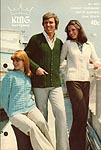 KNIT King Patterns No. 2075: Classic Cardigans (Set- In Sleeves)