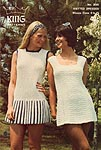 KNIT King Patterns No. 2085: Knitted Dresses