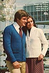 KNIT King Patterns No. 2092: Misses and Youths Cardigan Jacket