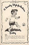 KNIT A Bunty Style For Baby Leaflet No. 4: Billy
