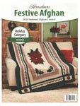 Herrschners 2020 National Afghan Contest Holiday Category Winner: Festive Afghan