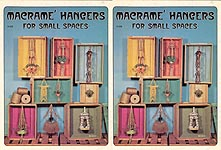 Craft Course Publishers Macrame Hangers for Small Spaces