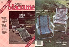 Plaid's Macrame Sitting Pretty Chair Seats