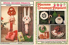Plaid Ent. Macrame Ornament Potpourri