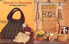 Hazel Pearson Handicrafts Moods in Macrame with Polypropylene Cord