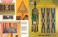 Hazel Pearson Handicrafts Macrame Curtains & Room Dividers