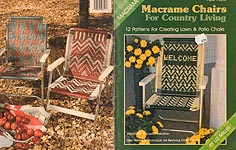 Plaid's Macrame Chairs for Country Living