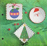 Aleene's Big Book of Crafts Christmas Fun Card Nail- Punched Ornaments