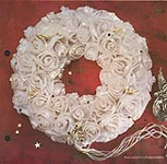 Aleene's Big Book of Crafts Christmas Fun Card 6: A Wreath of Paper Roses