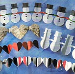 Aleene's Big Book of Crafts Christmas Fun Card 8: Paper Garlands