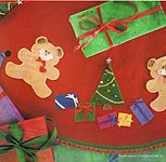"Aleene's Big Book of Crafts Christmas Fun Card 10: ""Beary"" Easy Tree Skirt"