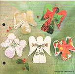Aleene's Big Book of Crafts Christmas Fun Card 13: Christmas Card Angels