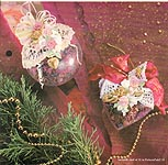 Aleene's Big Book of Crafts Christmas Fun Card 14: Victorian Ornaments with Potpourri