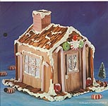 Aleene's Big Book of Crafts Christmas Fun Card Cinnamon Stick House
