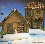 Aleene's Big Book of Crafts Christmas Fun Card 24: Holiday Houses
