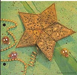 Aleene's Big Book of Crafts Christmas Fun Card 31: Star Tree Topper