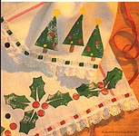 Aleene's Big Book of Crafts Christmas Fun Card 32: Holiday Guest Towels