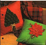 Aleene's Big Book of Crafts Christmas Fun Card 33: Festive Pillows