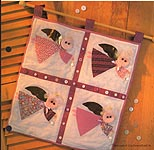 Aleene's Big Book of Crafts Christmas Fun Card 34: Angel Quilt