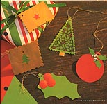 Aleene's Big Book of Crafts Easy Group Projects Card 33: Quick Holiday Tags