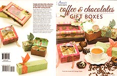 Annie's Paper Crafts Coffee & Chocolates Gift Boxes
