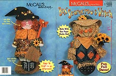 McCall's Creates: Box Scarecrow & Witch