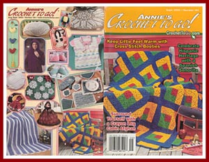 Cover of Annies Crochet to Go, Sept 2000