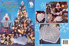 Cover of The Ultimate Crochet Christmas Tree pattern booklet