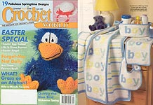 Crochet World, April 2006, Easter Special.