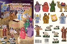 Plastic Canvas Nativity from The Needlecraft Shop