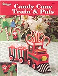 The Needlecraft Shop Plastic Canvas Candy Cane Train & Pals