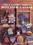 Leisure Arts Cute and Country Magnets in Plastic Canvas