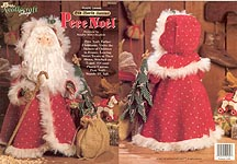 Plastic Canvas Old World Santas: Pere Noel