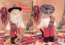 Plastic Canvas Old World Santas: Senor Santa Claus