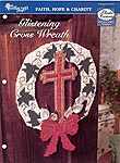 TNC Glistening Cross Wreath