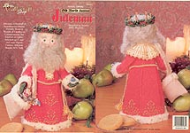 Plastic Canvas Old World Santas: Juleman