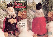 Plastic Canvas Old World Santas: Father Christmas