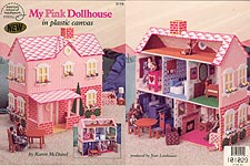 ASN My Pink Dollhouse in Plastic Canvas