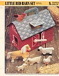 Annie's International Plastic Canvas Club: Little Red Barn Set