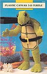 Annie's Attic Plastic Canvas 3-D Turtle