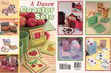 Annie's Plastic Canvas A Dozen Coaster Sets