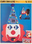 Annie's International Plastic Canvas Club: Clown Toss Game