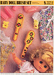 Annie's International Plastic Canvas Club: Baby Doll Brush Set