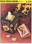 Annie's International Plastic Canvas Club: Pansy Tissue Covers