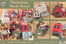 Jeanette Crews Plastic Canvas Phabulous Photo Boxes