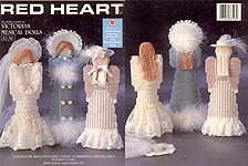 Paradise/Red Heart Plastic Canvas Victorian Musical Dolls